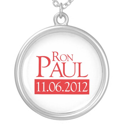 RON PAUL 11.06.2012 - CUSTOM JEWELRY