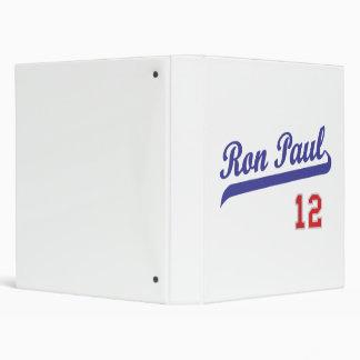 Ron Paul '12 Baseball Emblem Design Binder