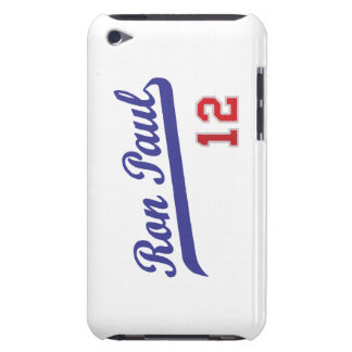 Ron Paul '12 Baseball Emblem Design Case-Mate iPod Touch Case