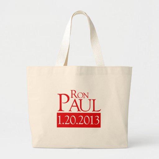 RON PAUL 1-20-2013 - BOLSA TELA GRANDE