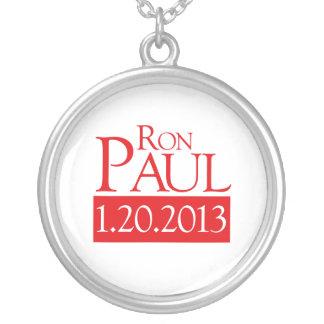 RON PAUL 1-20-2013 - ROUND PENDANT NECKLACE