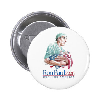Ron Paul 2008 - Customized Button