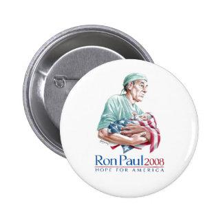 Ron Paul 2008 - Customized Pinback Button