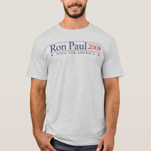 Ron Paul 2008 (Gray) Revolution T-Shirt
