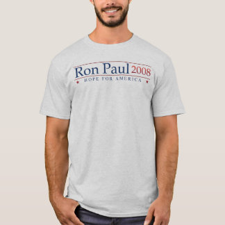 Ron Paul 2008 (Gray) Revolution T-Shirt