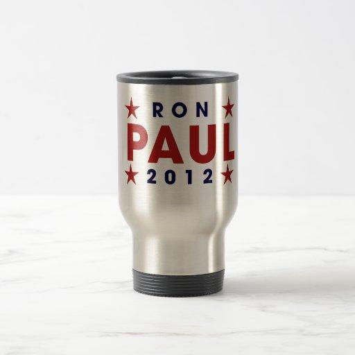 Ron Paul 2012 15 Oz Stainless Steel Travel Mug