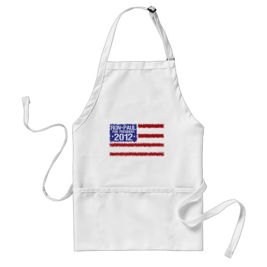 ron paul 2012 adult apron