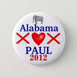 Ron Paul 2012 Alabama Button