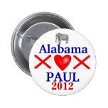Ron Paul 2012 Alabama Pin