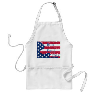 Ron Paul 2012 Altered US Flag Adult Apron
