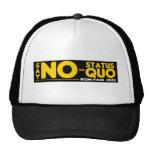 Ron Paul 2012 - Apenas diga NO al status quo Gorro De Camionero