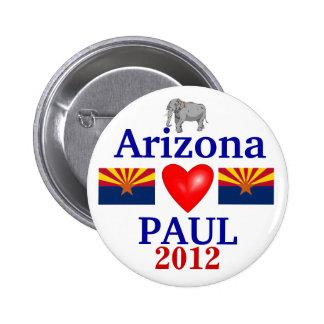 Ron Paul 2012 Arizona Button