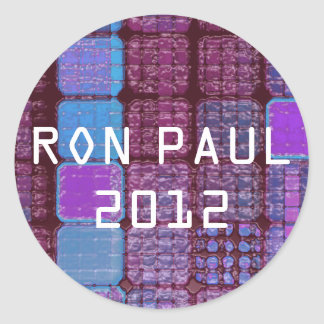 Ron Paul 2012 artistic stickers