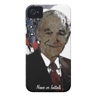 RON PAUL 2012 - Artsy Style Drawing Case-Mate iPhone 4 Case