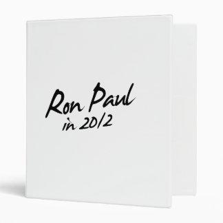RON PAUL 2012 Autograph Binders