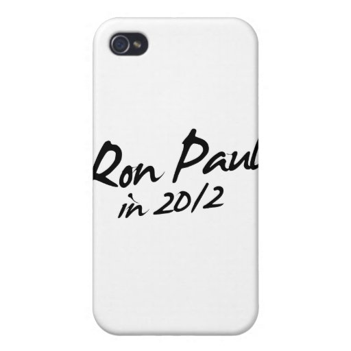 RON PAUL 2012 Autograph iPhone 4 Cover