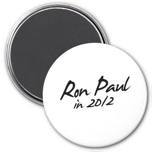 RON PAUL 2012 Autograph Refrigerator Magnet