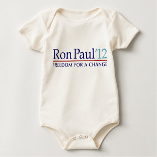Ron Paul 2012 Baby Bodysuit