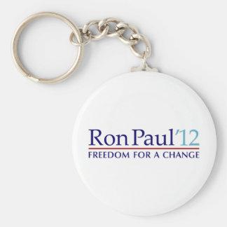 Ron Paul 2012 Basic Round Button Keychain