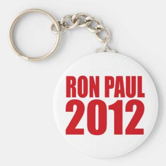 RON PAUL 2012 (Bold) Key Chains
