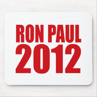 RON PAUL 2012 (Bold) Mouse Pad