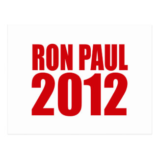 RON PAUL 2012 (Bold) Post Cards