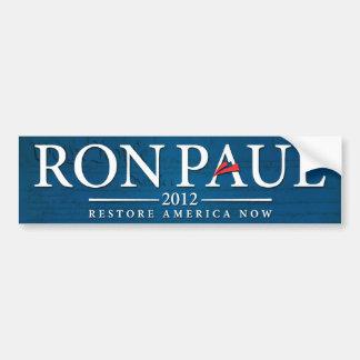 Ron Paul 2012 Bumper Sticker Car Bumper Sticker