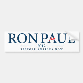 Ron Paul 2012 Bumper Sticker Car Bumper Sticker