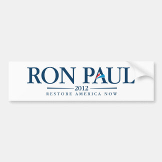 Ron Paul 2012 Pegatina De Parachoque