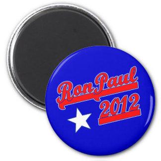 Ron Paul 2012 camisetas, engranaje de la campaña Imán Redondo 5 Cm