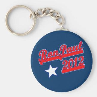 Ron Paul 2012 camisetas, engranaje de la campaña Llavero Redondo Tipo Pin