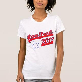 Ron Paul 2012 camisetas, engranaje de la campaña Remera