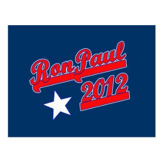 Ron Paul 2012 camisetas, engranaje de la campaña Tarjeta Postal
