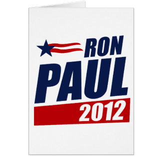 RON PAUL 2012 CARDS