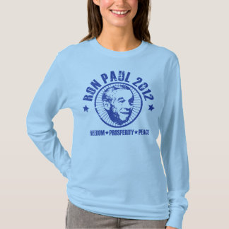 Ron Paul 2012 (Classic Distressed Look) T-Shirt