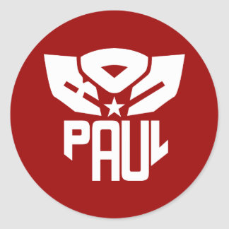 Ron Paul 2012 Classic Round Sticker