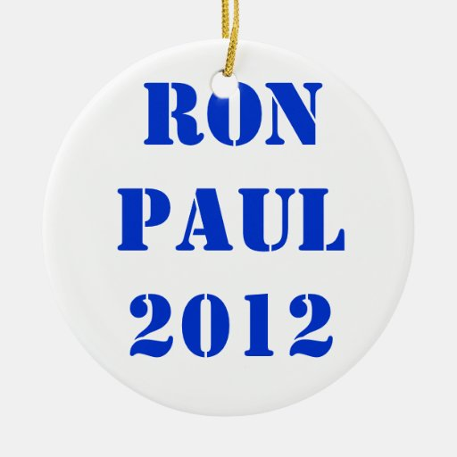 RON PAUL 2012 ADORNO