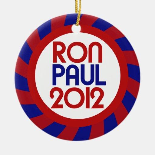 Ron Paul 2012 Ornamento De Navidad
