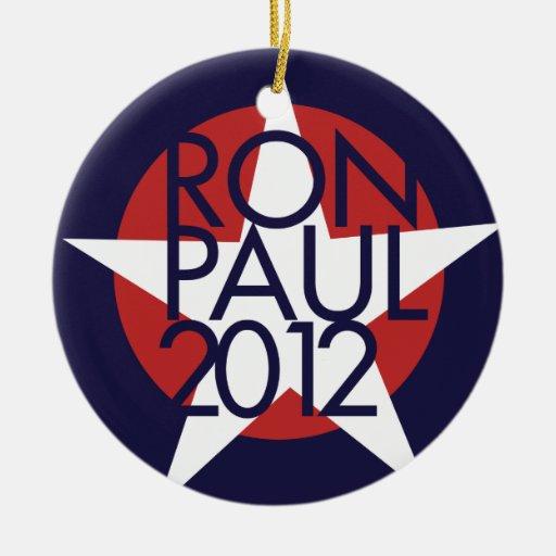 Ron Paul 2012 Adorno De Navidad
