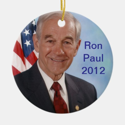 Ron Paul 2012 Ornatos