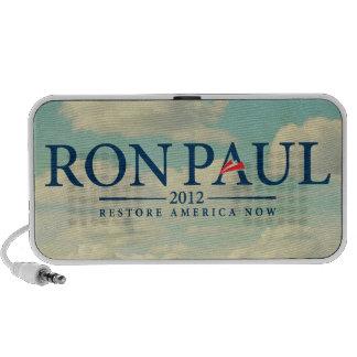 Ron Paul 2012 Doodle Laptop Speaker
