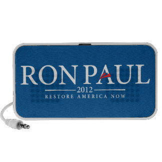 Ron Paul 2012 Doodle Mp3 Speakers