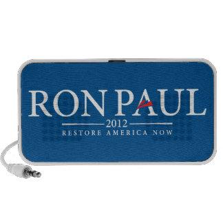Ron Paul 2012 Doodle Mp3 Speakers