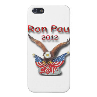 Ron Paul 2012 Eagle red iPhone SE/5/5s Cover