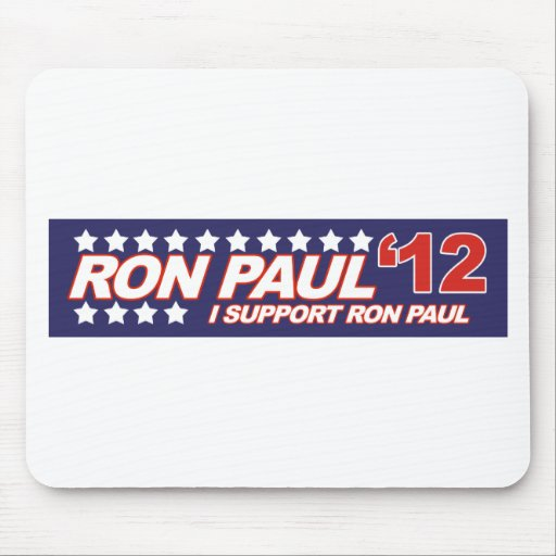 Ron Paul - 2012 election president vote Mousepads