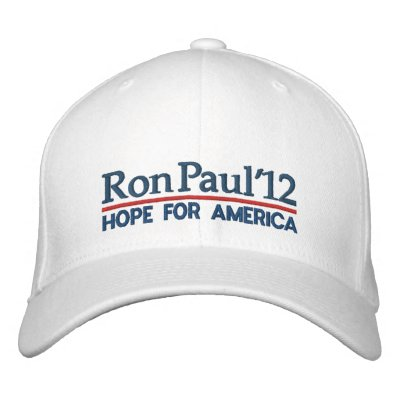 Ron Paul 2012 Embroidered Baseball Cap