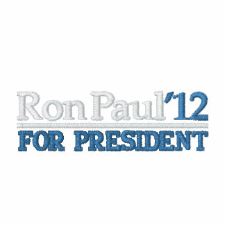Ron Paul 2012 Embroidered Hoodies