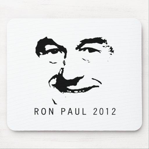 RON PAUL 2012 FACE MOUSE PAD