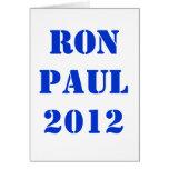 RON PAUL 2012 FELICITACION