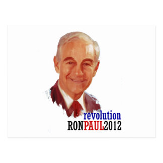Ron Paul 2012 for President Post Card